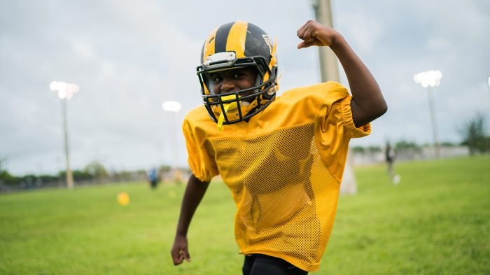 97dae729ded  Warriors of Liberty City  from LeBron James looks at a famed inner-city youth  football program