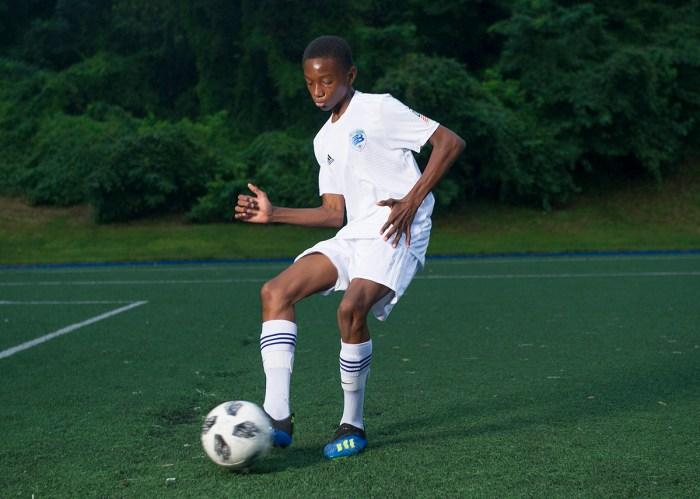 Soccer player Winston Wardlaw raises money for the Crohn's