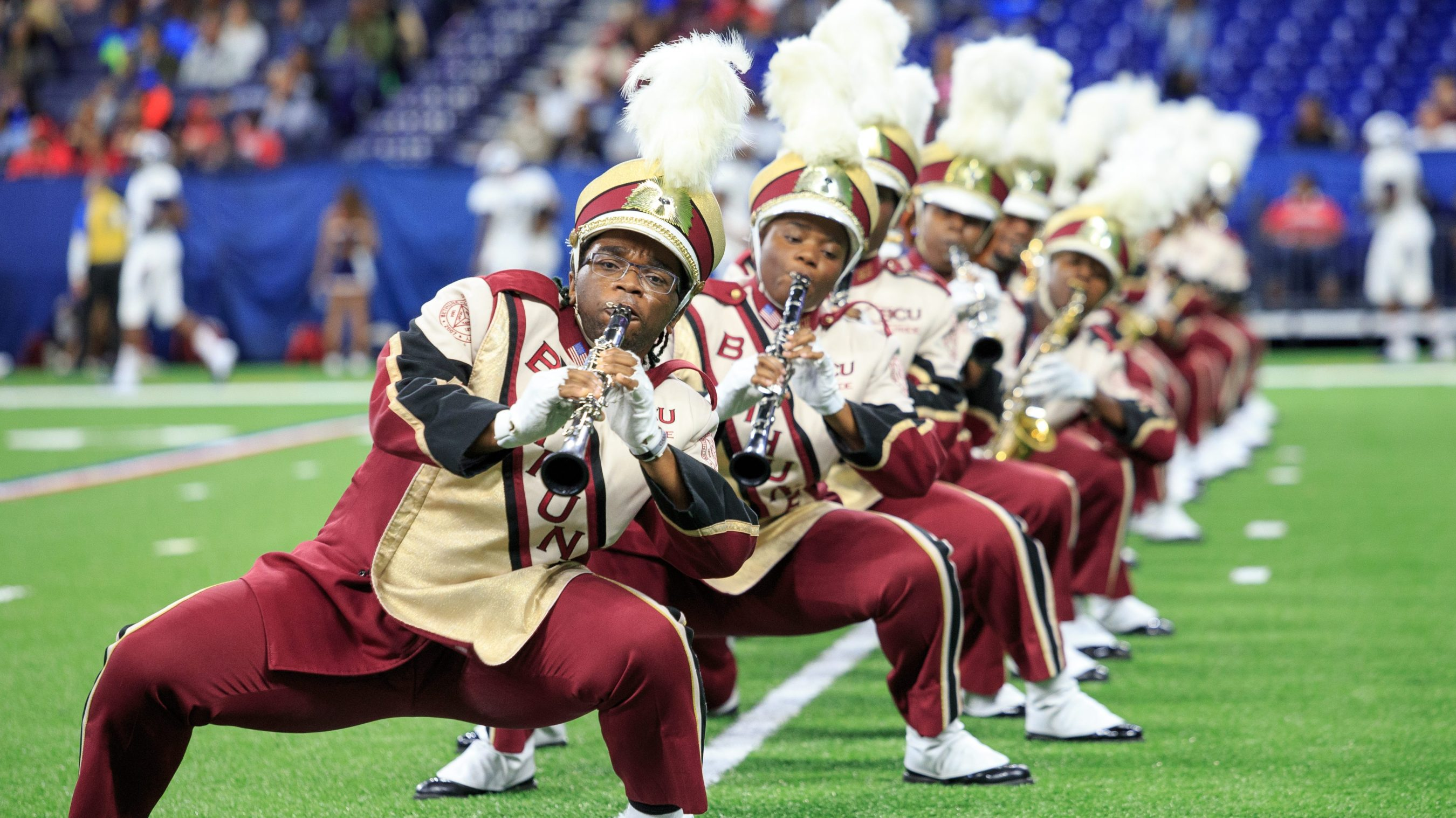 1,000 miles with the Marching Wildcats of Bethune-Cookman ...