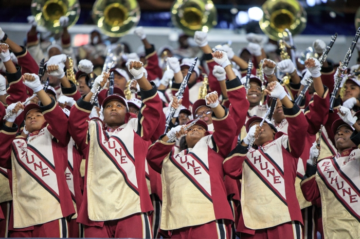 1,000 miles with the Marching Wildcats of Bethune-Cookman, and what