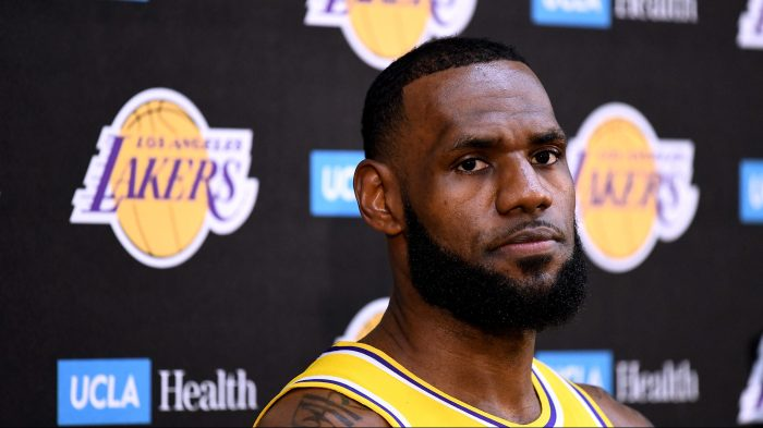 e1a3c1af92e New Los Angeles Laker LeBron James and his team are the talk of the town