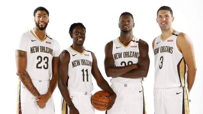 2018-19 New Orleans Pelicans Media Day