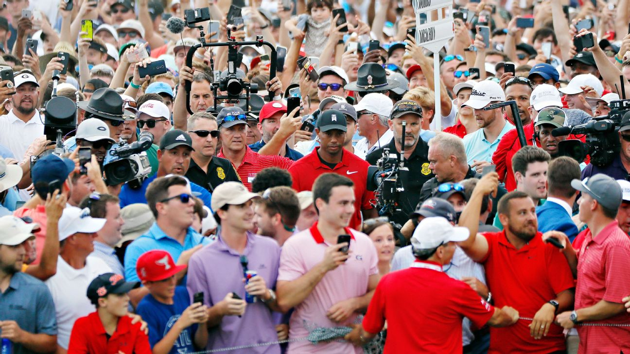 In a nation divided, Tiger Woods serves as a rare unifier