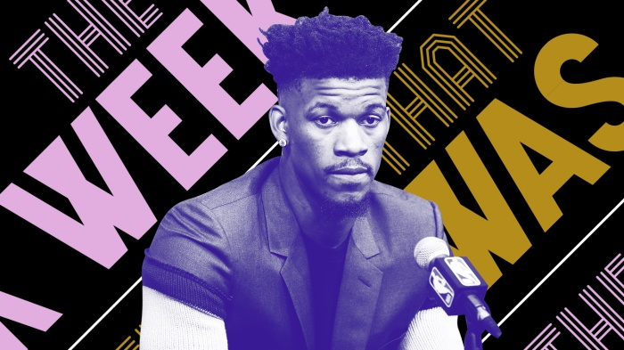 3ea430e22e4 The Timberwolves (don t) really want to trade Jimmy Butler and other news  of the week
