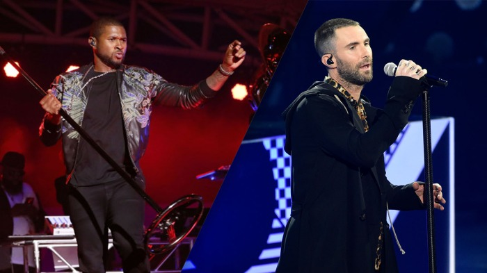 Super Bowl halftime show  NFL should have gone with Usher over Maroon 5 3eee1c1a8
