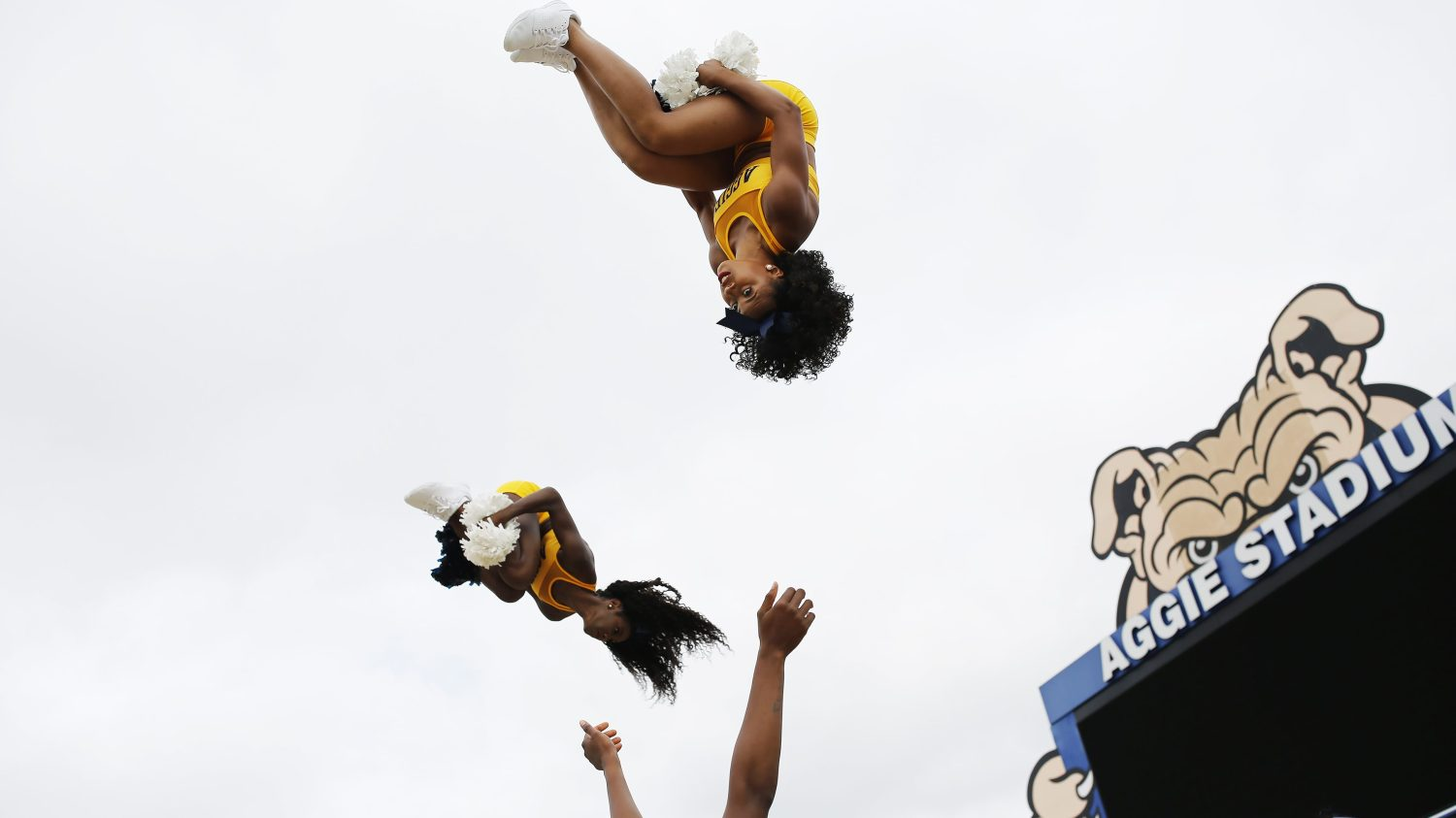 North Carolina A&T Cheer Squad