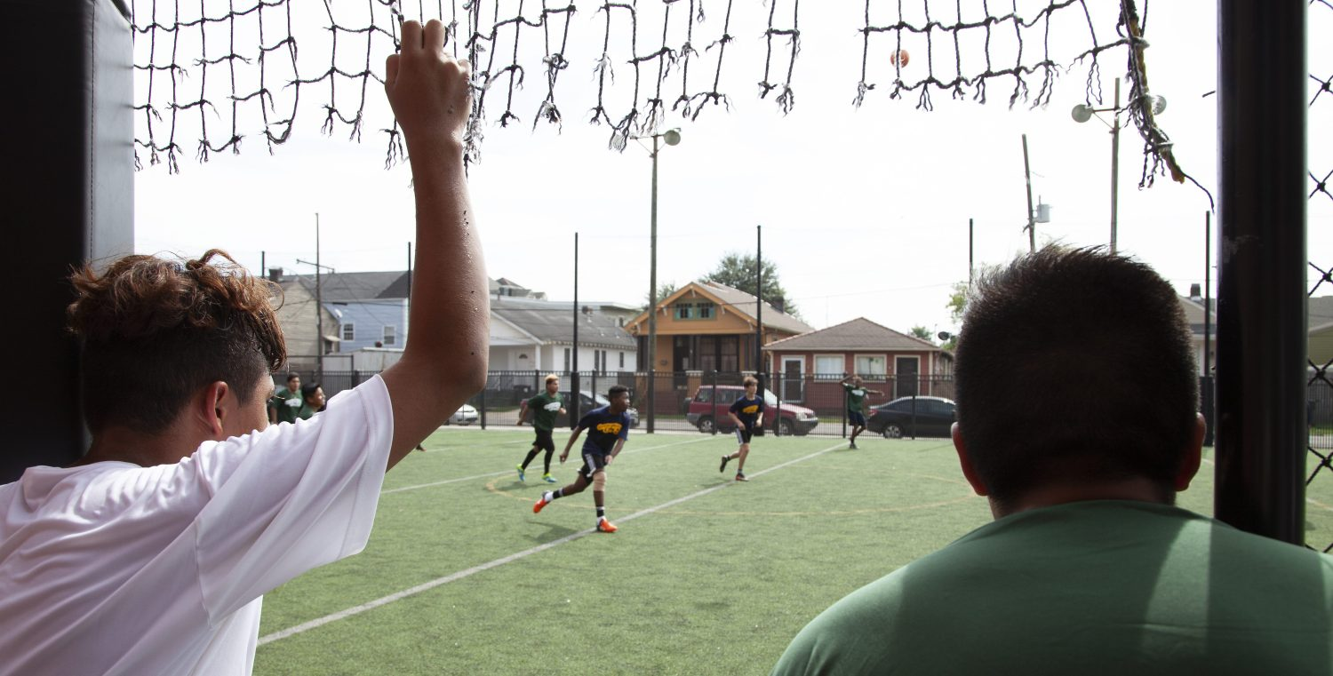In New Orleans Immigrant High School Students Find A Way To Play