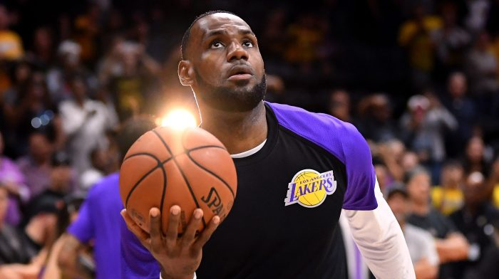 premium selection f5d7d 874b7 Win or lose, the LeBron James Lakers will be a cultural ...