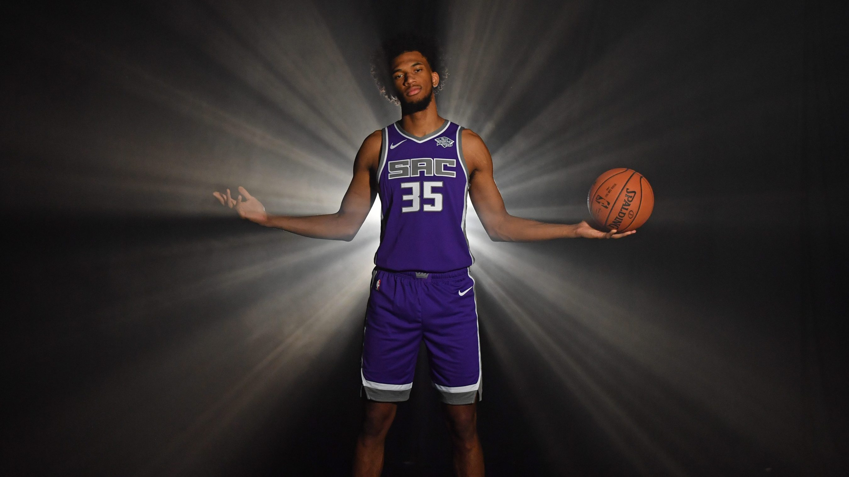 56ad5ba259064 Kings  Marvin Bagley ready to shine as NBA rook and rapper