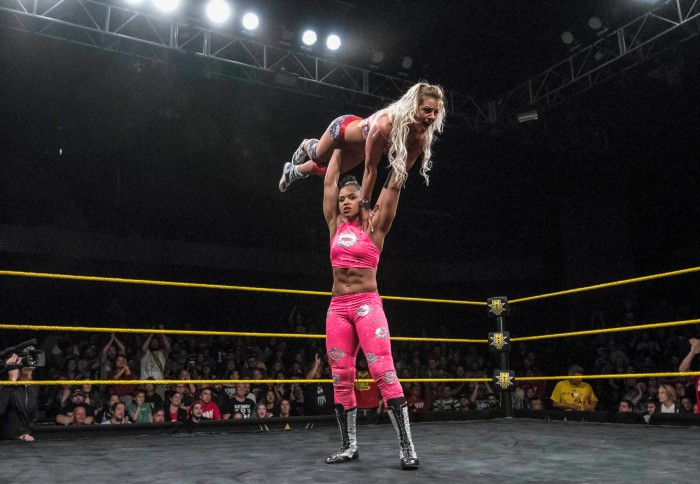Step into the ring with WWE NXT star Bianca Belair — if