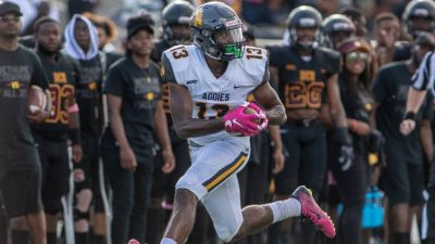 N.C. A&T receiver Elijah Bell
