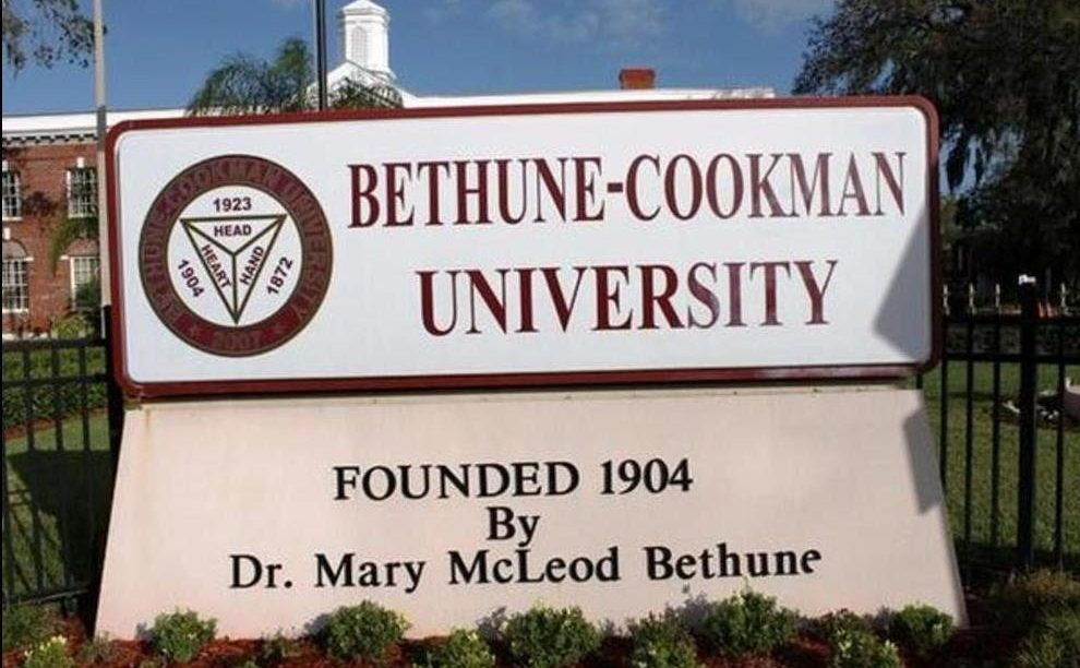 bethune cookman entrance