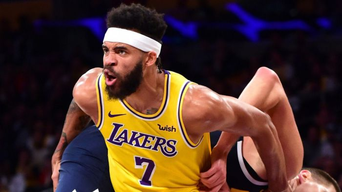 bb77ecfcc78 JaVale McGee is focused on being a Laker and on clean water worldwide