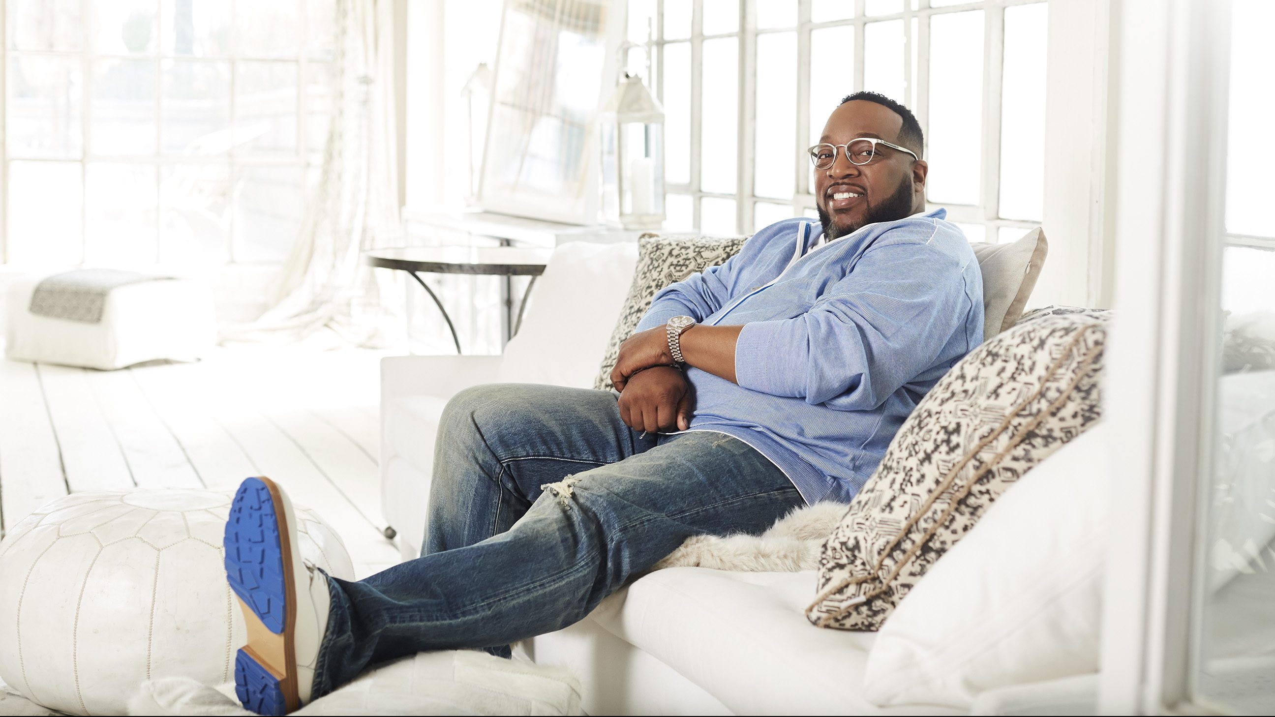 Becoming a father is Bishop Marvin Sapp's 'greatest