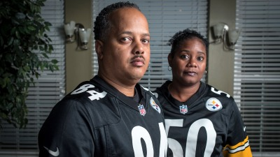 Damian and Monique Herring, retired, disabled Army veterans, feel there was a better way for Colin Kaepernick to protest to advance his cause, but believe there is a problem with police brutality against black people.