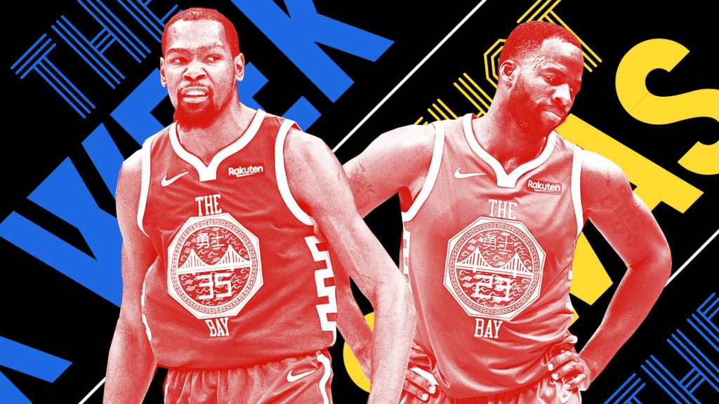 buy online 028b7 1e925 Kevin Durant and Draymond Green had a fight and other news ...