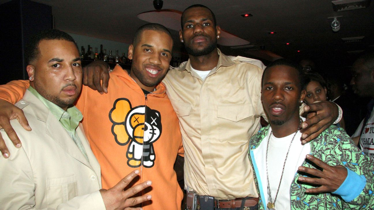 597b57ea50ac LeBron and his friends are telling their story for the first time