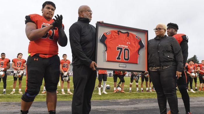 McDonogh School's Jordan McNair Jersey Ceremony