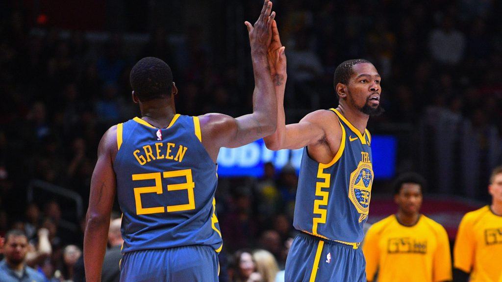 Kevin Durant and Draymond Green: 'They will be brothers again'