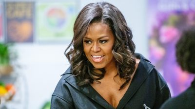 Michelle Obama Promotes Her New Book In New York City