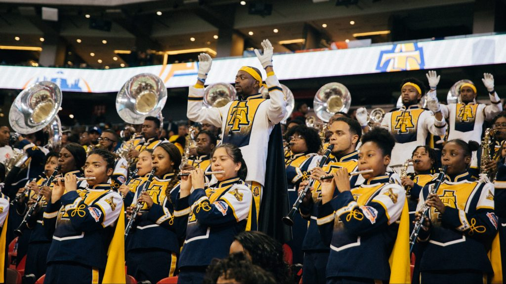So you want to vote on your favorite HBCU band?