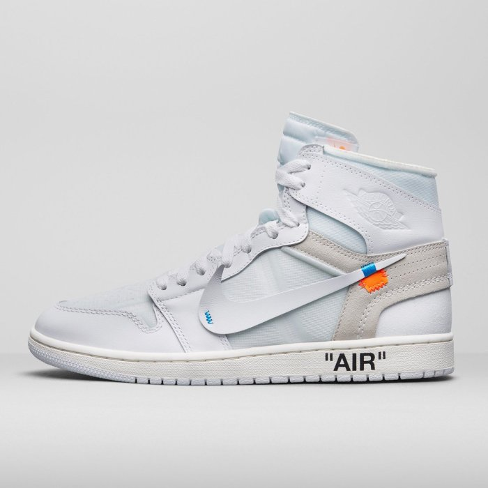 "cheap for discount d60f8 df595 ""White"" Off-White x Air Jordan 1"