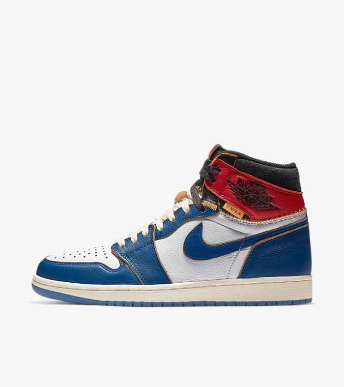 "hot sale online 9212c 4287c Union Los Angeles x Air Jordan 1 (""Storm Blue""   ""Black Toe"")"