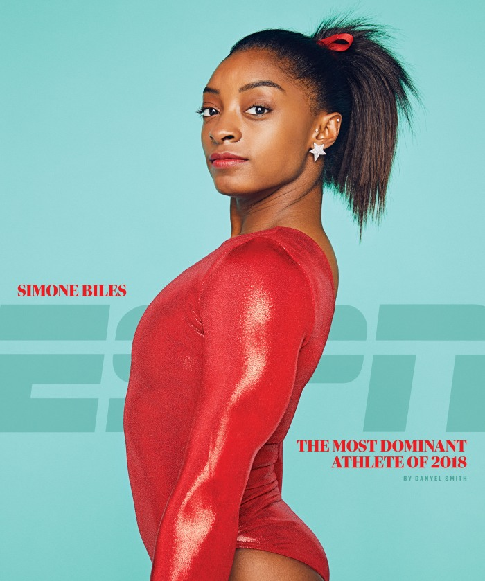 Most dominant athlete of 2018: Simone Biles