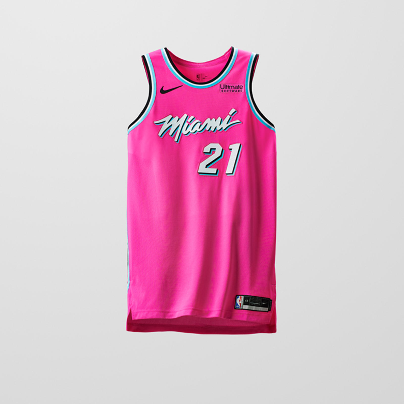 best sneakers c925d 44dfd miami heat miami vice jersey