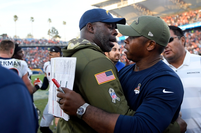 The Chargers  Anthony Lynn and Broncos  Vance Joseph became NFL head  coaches in 2017. b67ef343c