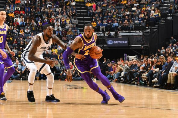 Los Angeles Lakers v Memphis Grizzlies