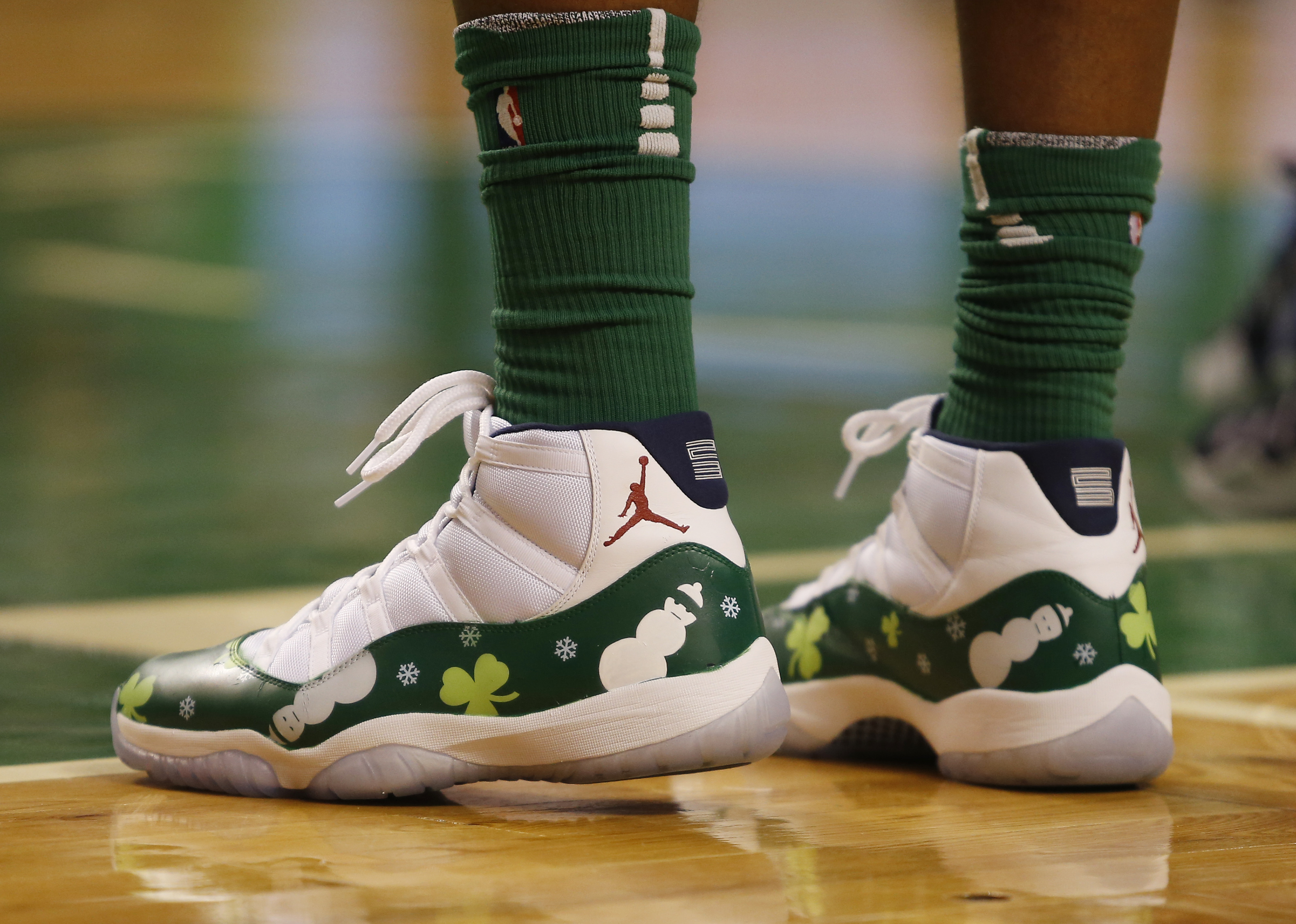 5dbd1b189e3 The top 50 sneakers worn on the past 20 NBA Christmas Days