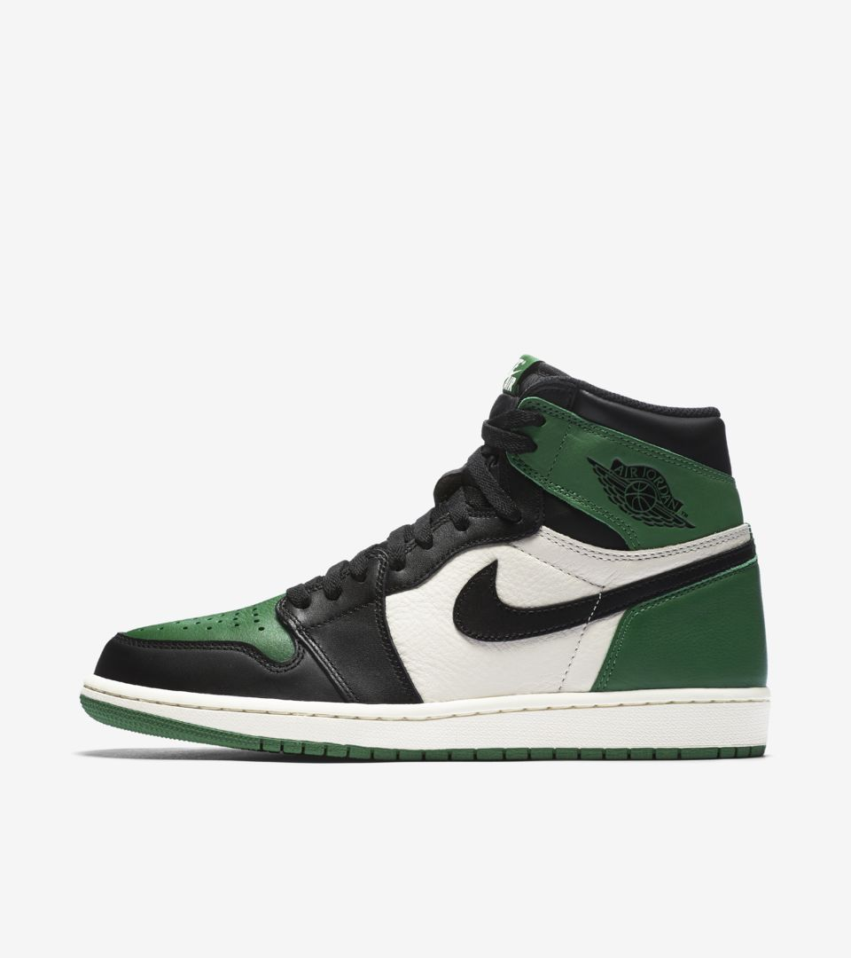"wholesale dealer 22d21 17055 ""Pine Green"" Air Jordan 1"