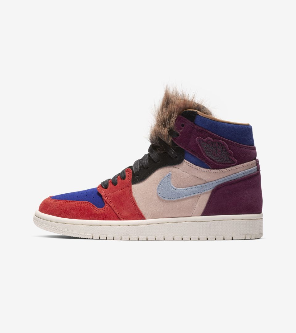 "new style ad37f 87536 ""Court Lux"" Aleali May x Air Jordan 1"