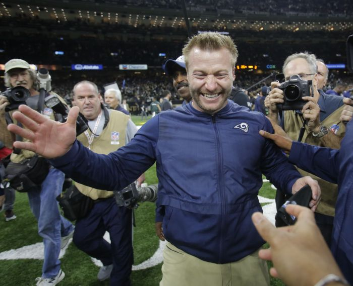 Yes, Sean McVay is an offensive genius