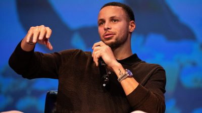 "Steph Curry attends debut screening of ""Emanuel"""
