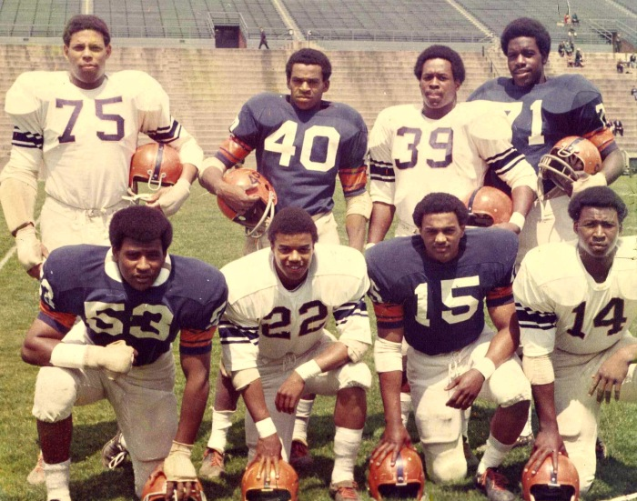 """6f7ecb6f650 A group of players who came to be called the """"Syracuse 8″ sacrificed their  college and future pro careers by speaking out against racial  discrimination on ..."""