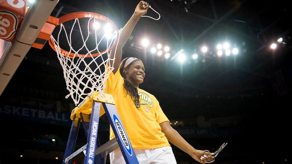 Baylor's Kalani Brown: 'The last thing I need to accomplish before I leave Baylor is a Final Four.'