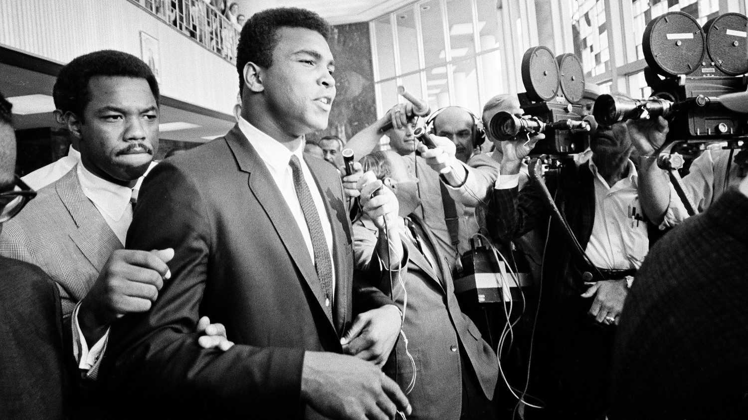 eddc10c0489 Heavyweight boxing champion Muhammad Ali said