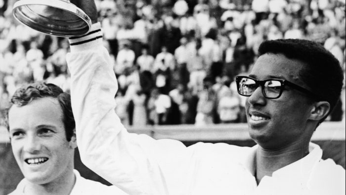 Arthur Ashe Wins The First US Open
