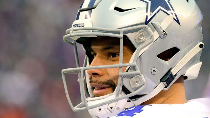 quality design 4c441 d93f4 Can Dak Prescott lead Cowboys to the Super Bowl? Pressure's on