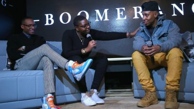 "BET Presents ""Boomerang"" Screening & Fireside Chat With Lena Waithe, Ben Cory Jones And Dime Davis At MACRO During Sundance Film Festival"