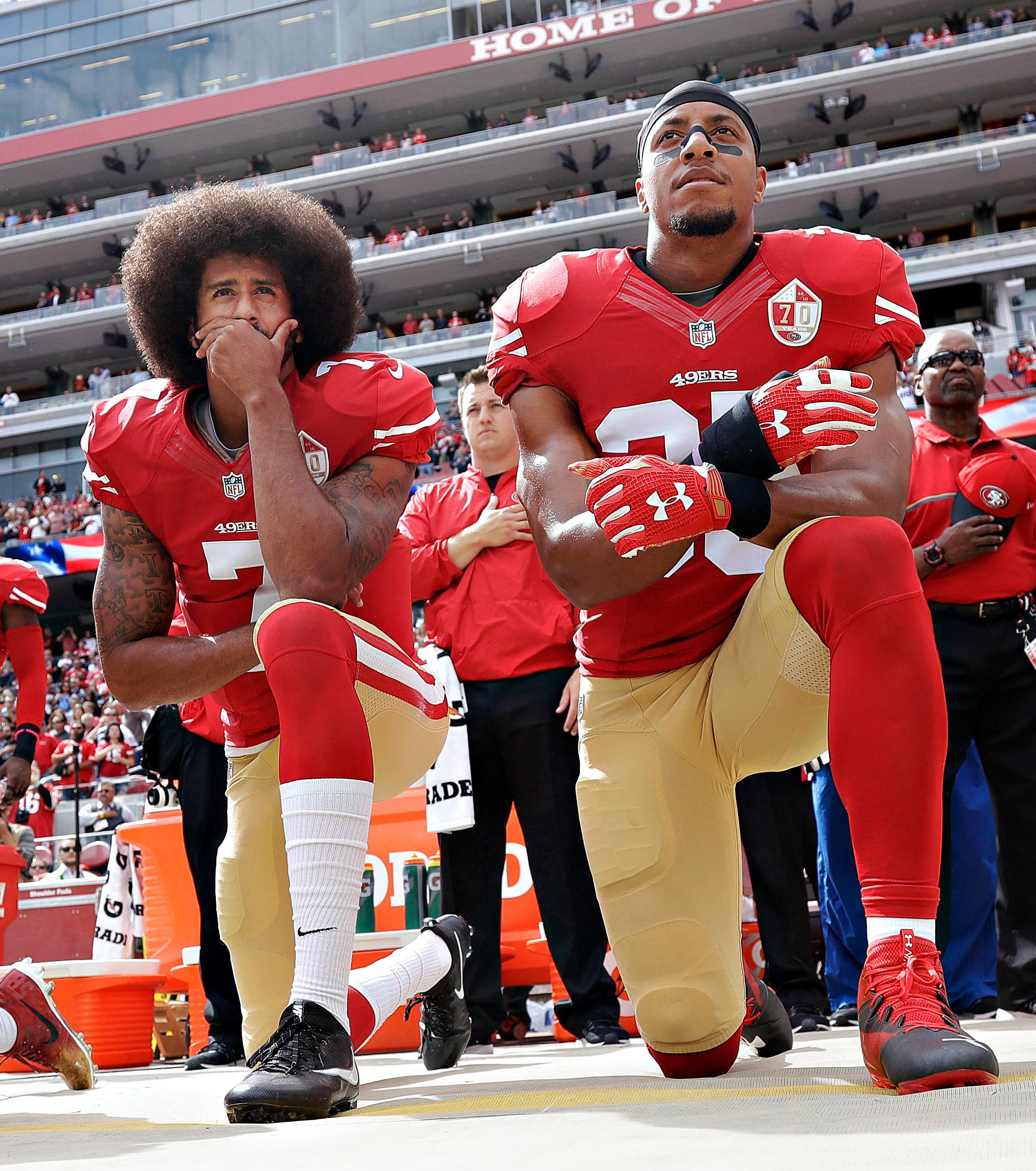 b8f7b2718ca Kaepernick rarely speaks but still dominates every NFL conversation