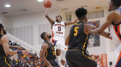 Morgan State guard Stanley Davis