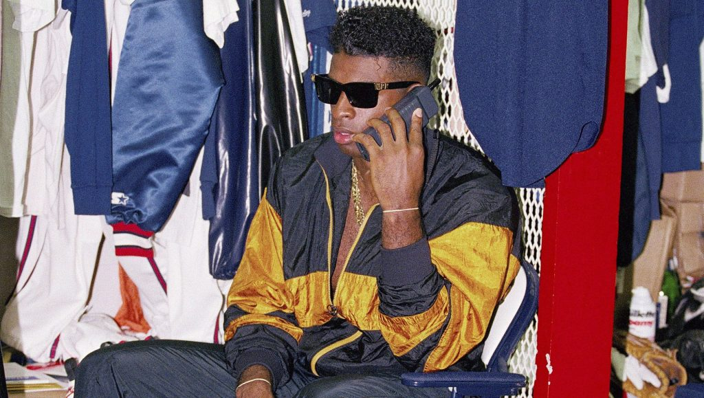 The Hair The Jewelry The Gear And The Swag He Rocked It With Deion Sanders Icon Of Prime Time Style
