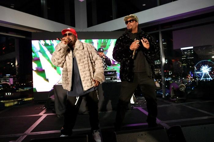 """9a65815e0b54 Rapper Big Boi performs at """"Culinary Kickoff"""" at Ventanas on Jan. 31"""