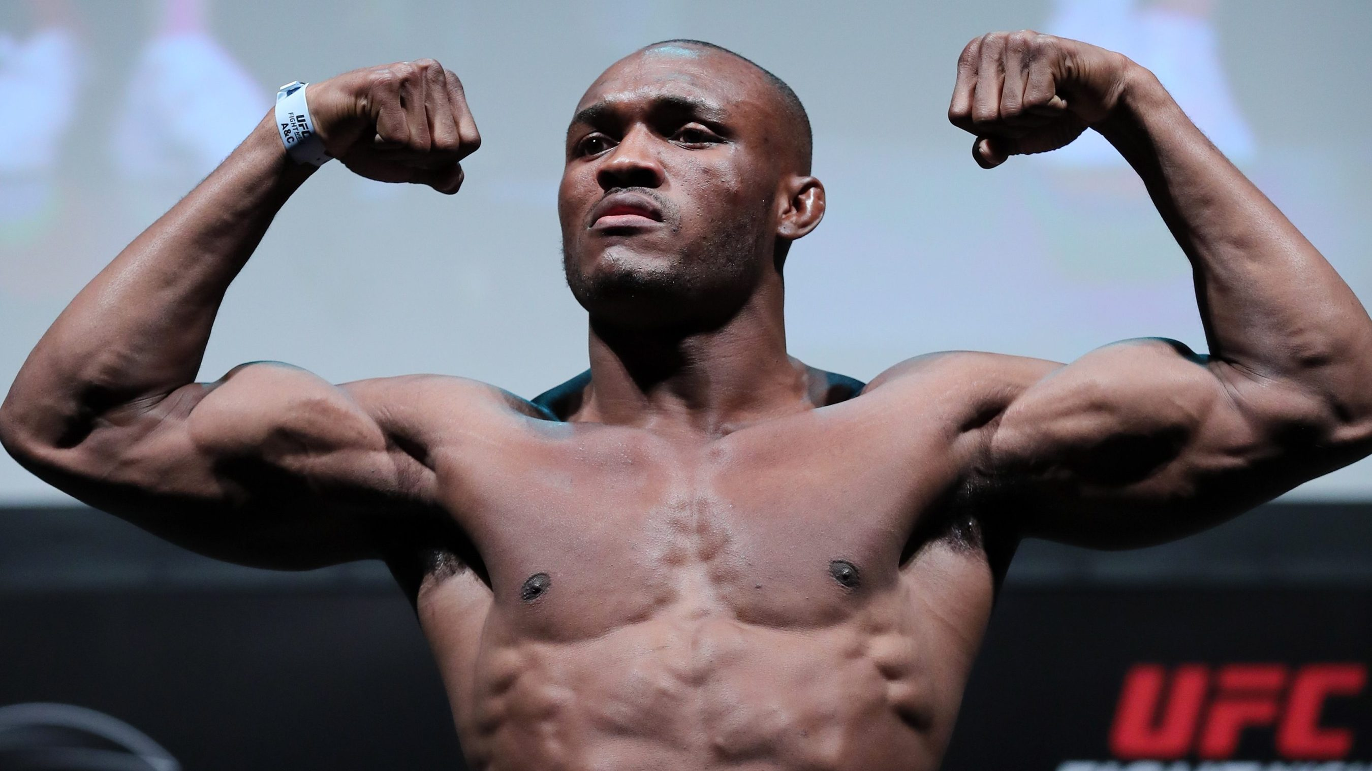 Kamaru Usman on Tyron Woodley: 'I will push all the right buttons until I  break him'