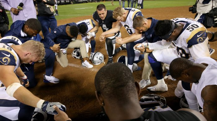 efbaba22 Rams chaplain Kevin Nickerson to play supporting role on Super Bowl ...