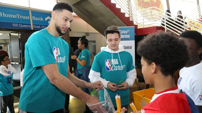 2019 NBA Cares All-Star Day of Service