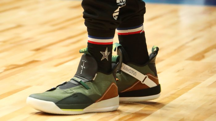 5a1cace24a3f The 23 hottest sneaker sightings of 2019 NBA All-Star Weekend